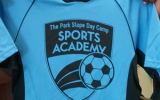 Sports Academy logo on shirt