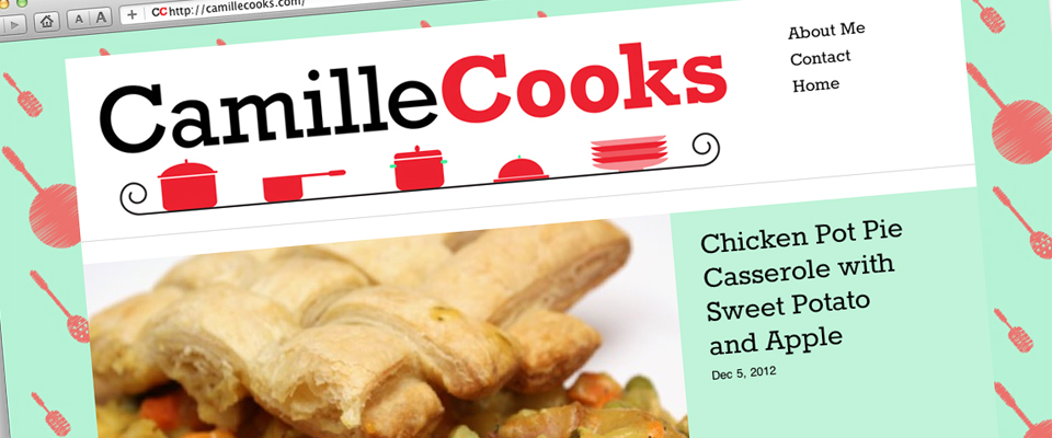 Camille Cooks Website
