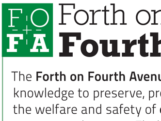 Forth on Fourth Avenue Card/Logo