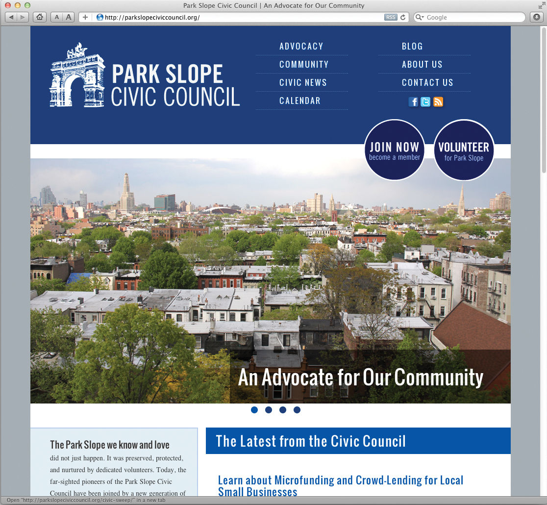 Civic Council website