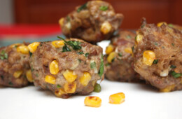 Turkey & Sweetcorn Meatballs