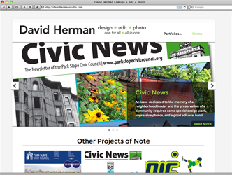 David Herman Portfolio Website