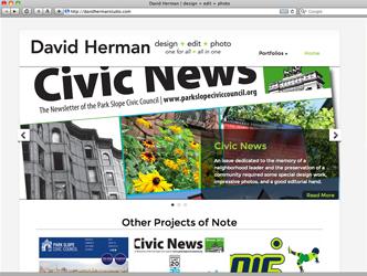 David Herman Portfolio Website
